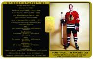 "Collector Karatbar - ""Hockey Legend Bobby Hull"""