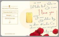 "Special Karatbar - ""Love Letter"""