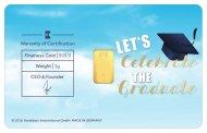 Graduation Blue