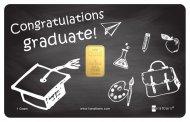 Graduation Black and White