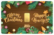 Special Karatbars Christmas 2019 Wood Decoration