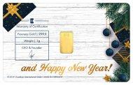 Special Karatbars Christmas 2019 Christmas Tree Gifts